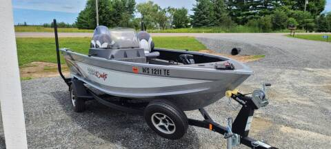 2018 Alumacraft Competitor 165 for sale at Shinkles Auto Sales & Garage in Spencer WI