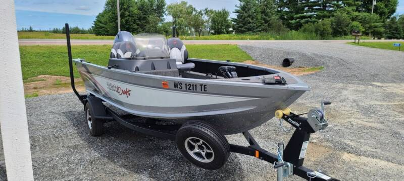 2018 Alumacraft Competitor165 for sale at Shinkles Auto Sales & Garage in Spencer WI