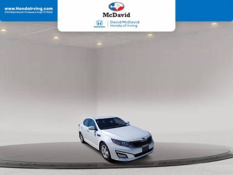 2015 Kia Optima for sale at DAVID McDAVID HONDA OF IRVING in Irving TX