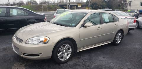 2012 Chevrolet Impala for sale at Credit Connection Auto Sales Inc. CARLISLE in Carlisle PA