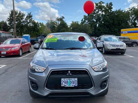 2015 Mitsubishi Outlander Sport for sale at Low Price Auto and Truck Sales, LLC in Salem OR