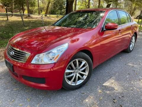 2009 Infiniti G37 Sedan for sale at Next Autogas Auto Sales in Jacksonville FL
