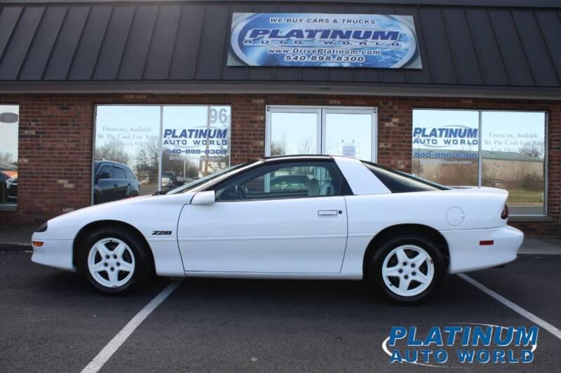 1997 Chevrolet Camaro for sale at Platinum Auto World in Fredericksburg VA