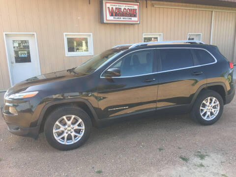 2014 Jeep Cherokee for sale at Palmer Welcome Auto in New Prague MN