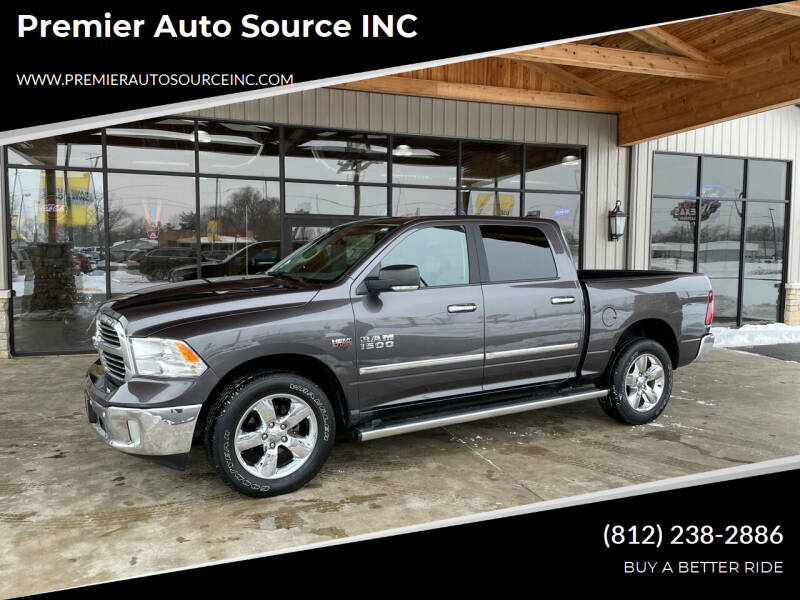 2018 RAM Ram Pickup 1500 for sale at Premier Auto Source INC in Terre Haute IN