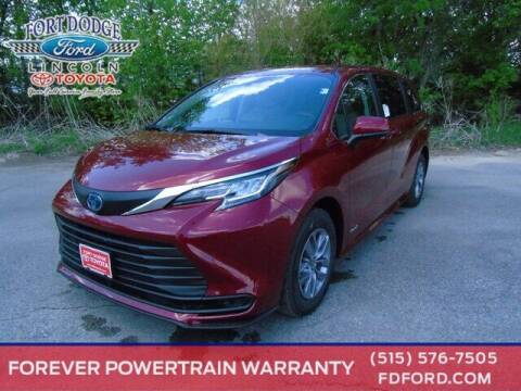 2021 Toyota Sienna for sale at Fort Dodge Ford Lincoln Toyota in Fort Dodge IA