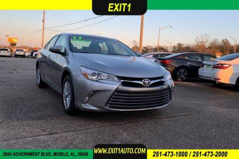 2017 Toyota Camry for sale at Exit 1 Auto in Mobile AL