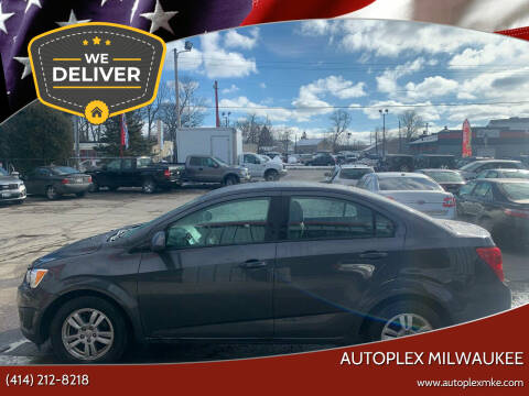 2012 Chevrolet Sonic for sale at Autoplex 2 in Milwaukee WI