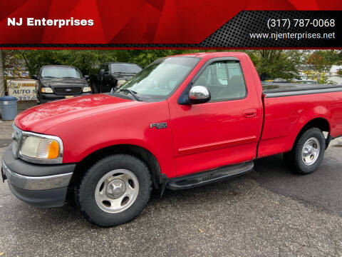 2001 Ford F-150 for sale at NJ Enterprises in Indianapolis IN