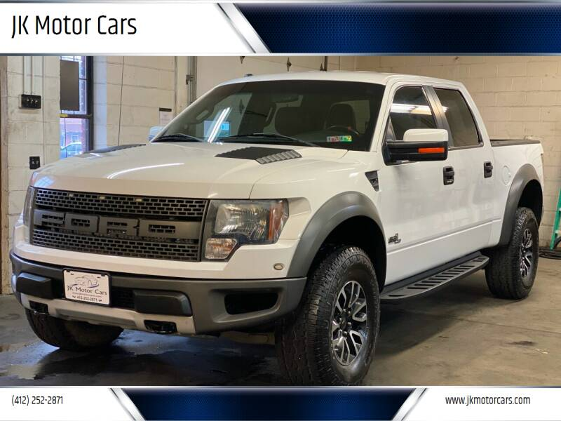 2012 Ford F-150 for sale at JK Motor Cars in Pittsburgh PA