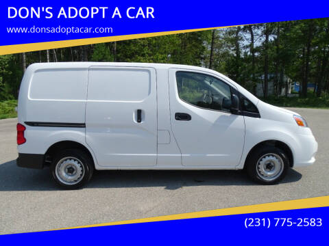 2020 Nissan NV200 for sale at DON'S ADOPT A CAR in Cadillac MI