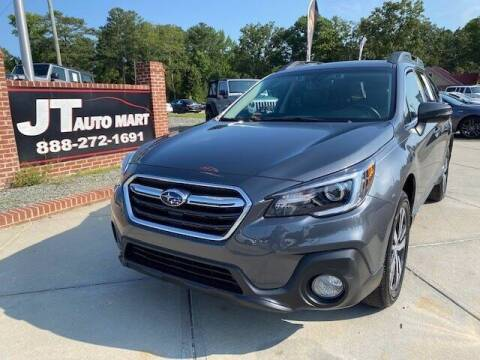 2018 Subaru Outback for sale at J T Auto Group in Sanford NC