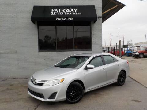 2012 Toyota Camry for sale at FAIRWAY AUTO SALES, INC. in Melrose Park IL