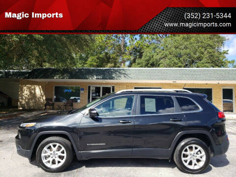 2015 Jeep Cherokee for sale at Magic Imports in Melrose FL