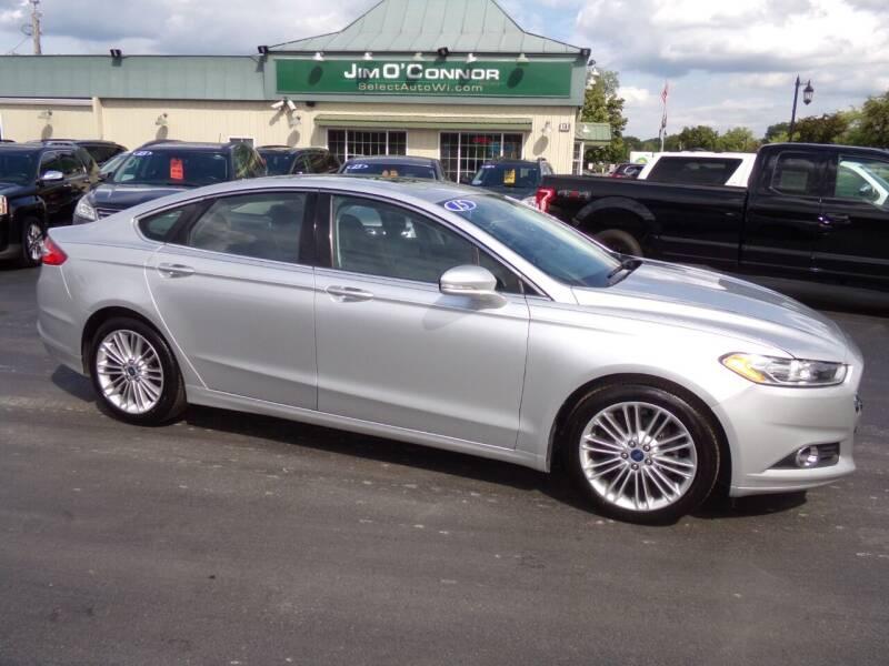 2015 Ford Fusion for sale at Jim O'Connor Select Auto in Oconomowoc WI