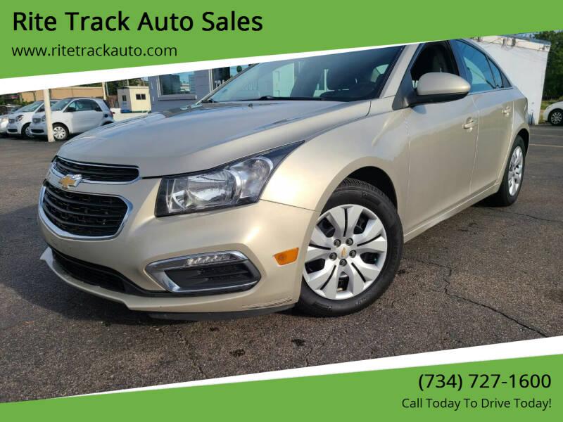 2015 Chevrolet Cruze for sale at Rite Track Auto Sales in Wayne MI
