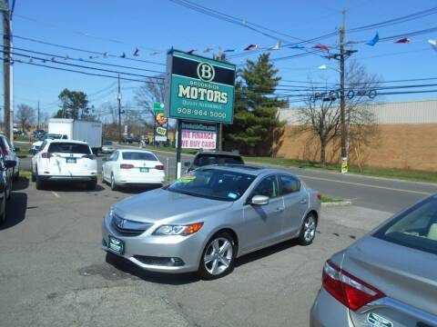 2013 Acura ILX for sale at Brookside Motors in Union NJ