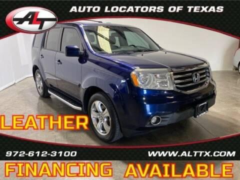 2015 Honda Pilot for sale at AUTO LOCATORS OF TEXAS in Plano TX