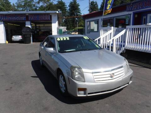 2007 Cadillac CTS for sale at 777 Auto Sales and Service in Tacoma WA