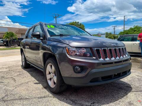 2016 Jeep Compass for sale at Ultimate Car Solutions in Pompano Beach FL