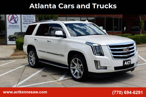 2015 Cadillac Escalade for sale at Atlanta Cars and Trucks in Kennesaw GA