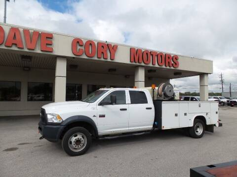 2012 RAM Ram Chassis 5500 for sale at DAVE CORY MOTORS in Houston TX