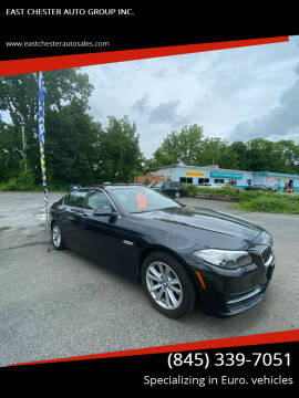 2014 BMW 5 Series for sale at EAST CHESTER AUTO GROUP INC. in Kingston NY