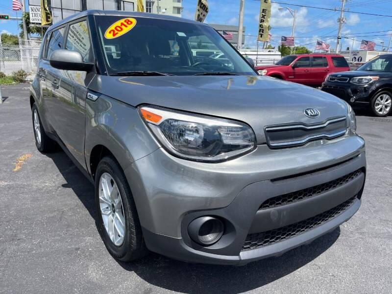 2018 Kia Soul for sale at MIAMI AUTO LIQUIDATORS in Miami FL