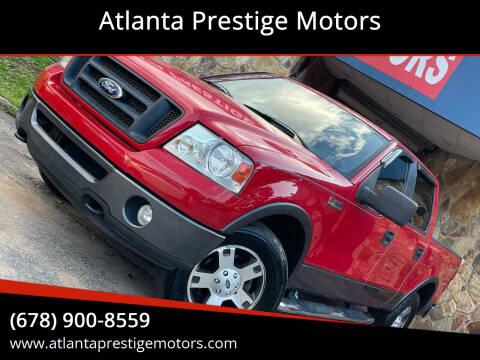 2007 Ford F-150 for sale at Atlanta Prestige Motors in Decatur GA