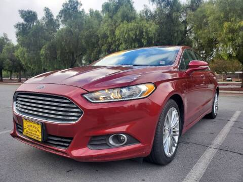 2016 Ford Fusion for sale at ALL CREDIT AUTO SALES in San Jose CA