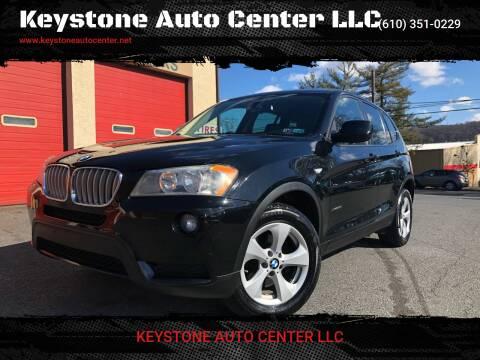 2011 BMW X3 for sale at Keystone Auto Center LLC in Allentown PA