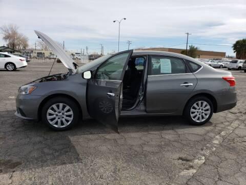 2019 Nissan Sentra for sale at ELITE MOTORS in Victorville CA