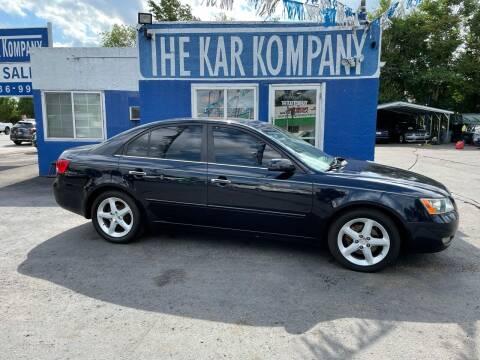 2006 Hyundai Sonata for sale at The Kar Kompany Inc. in Denver CO