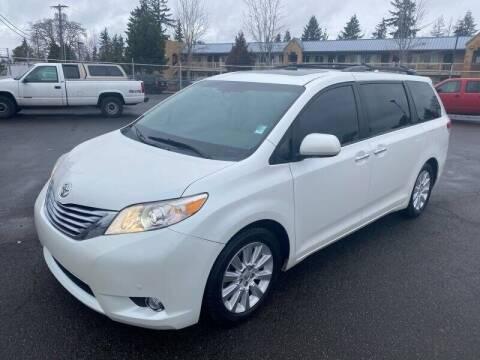 2012 Toyota Sienna for sale at TacomaAutoLoans.com in Tacoma WA