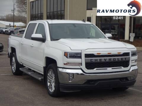 2018 Chevrolet Silverado 1500 for sale at RAVMOTORS 2 in Crystal MN