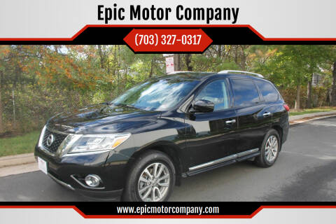 2014 Nissan Pathfinder for sale at Epic Motor Company in Chantilly VA