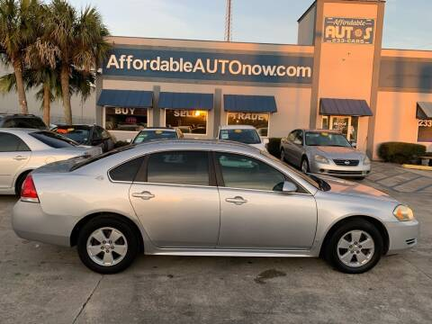 2009 Chevrolet Impala for sale at Affordable Autos in Houma LA