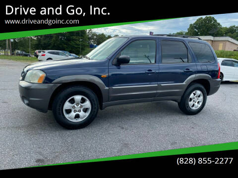 2004 Mazda Tribute for sale at Drive and Go, Inc. in Hickory NC
