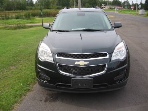 2013 Chevrolet Equinox for sale at SCHUMACHER AUTO SALES & SERVICE in Park Falls WI