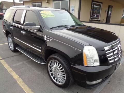2008 Cadillac Escalade for sale at BBL Auto Sales in Yakima WA