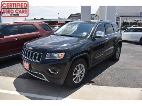 2016 Jeep Grand Cherokee for sale at South Plains Autoplex by RANDY BUCHANAN in Lubbock TX