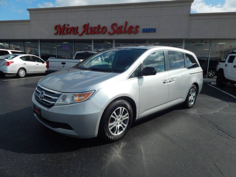 2012 Honda Odyssey for sale at Mira Auto Sales in Dayton OH