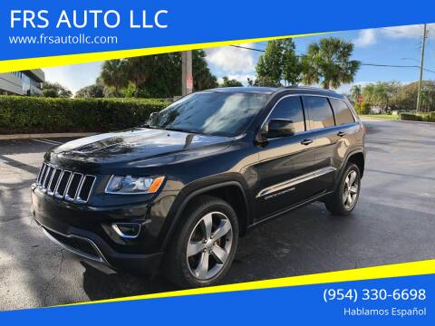 2015 Jeep Grand Cherokee for sale at FRS AUTO LLC in West Palm Beach FL