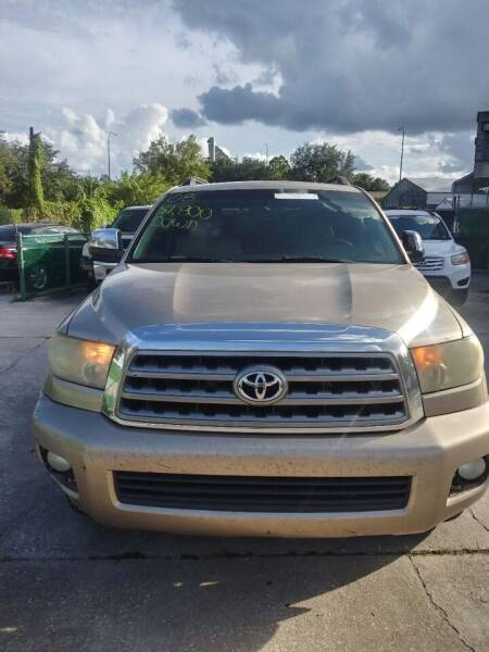 2008 Toyota Sequoia for sale at Track One Auto Sales in Orlando FL