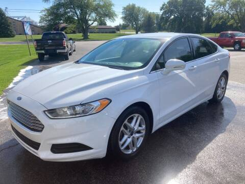 2016 Ford Fusion for sale at Deals on Wheels Auto Sales in Scottville MI