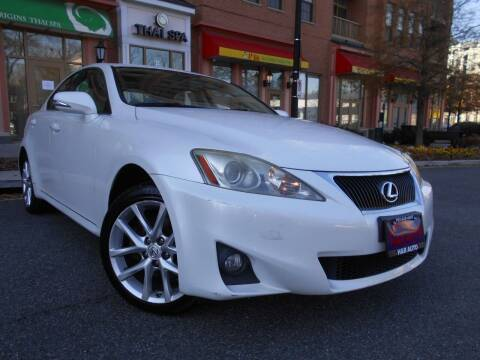 2011 Lexus IS 250 for sale at H & R Auto in Arlington VA