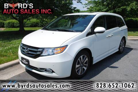 2014 Honda Odyssey for sale at Byrds Auto Sales in Marion NC