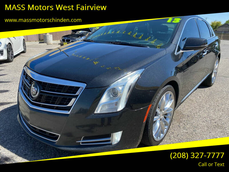2014 Cadillac XTS for sale at M.A.S.S. Motors - West Fairview in Boise ID