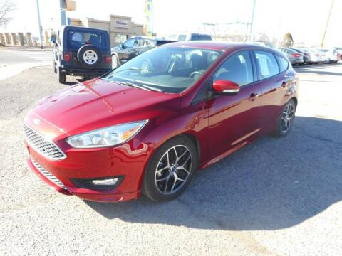 2016 Ford Focus for sale at AUGE'S SALES AND SERVICE in Belen NM
