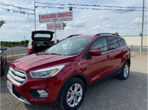 2018 Ford Escape for sale at Dealers Choice Inc in Farmersville CA